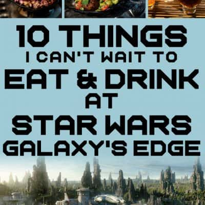 Ten things I can't wait to eat at Star Wars Galaxy's Edge