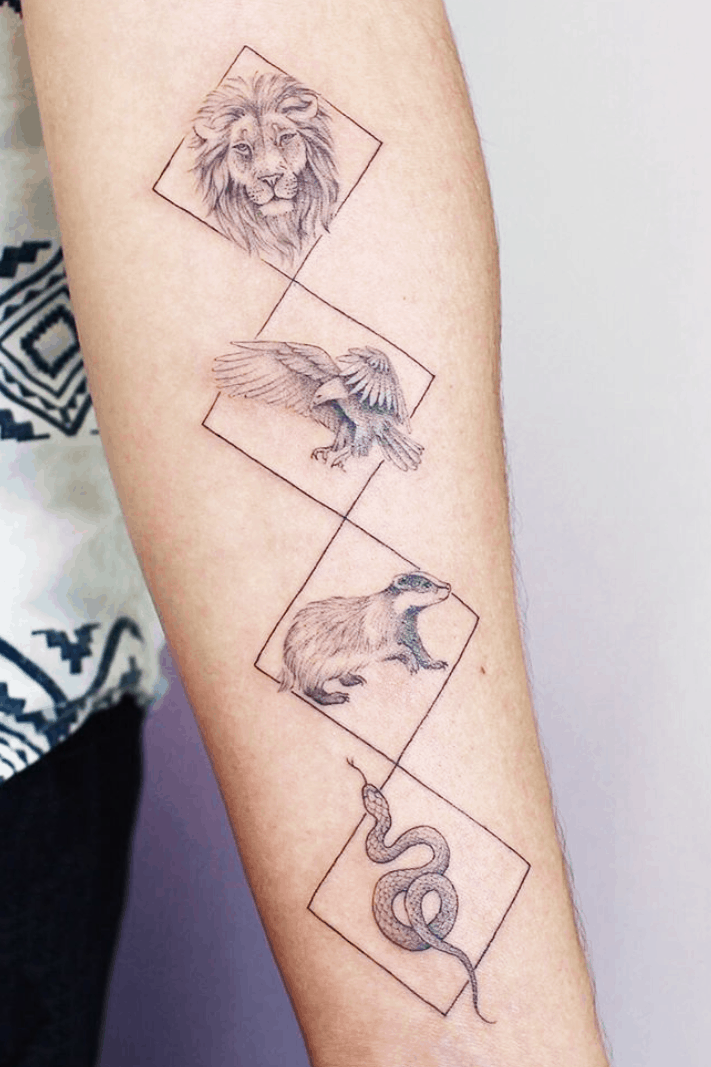 17 Harry Potter Tattoo More Than Thursdays Let we have to look at the top 13 designs of harry potter tattoo. 17 harry potter tattoo more than