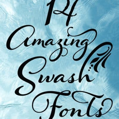 14 Amazing Swash fonts