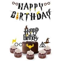 Wizard Birthday Party Supplies Set