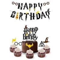 Wizard Birthday Party Supplies Set
