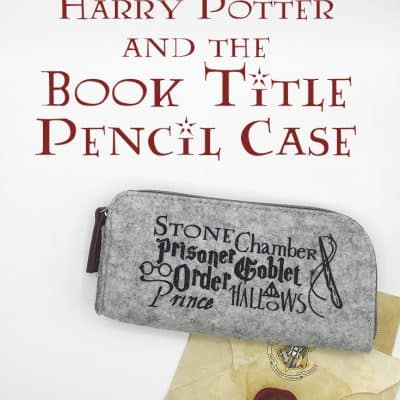 Free Harry Potter Book Title Cut File