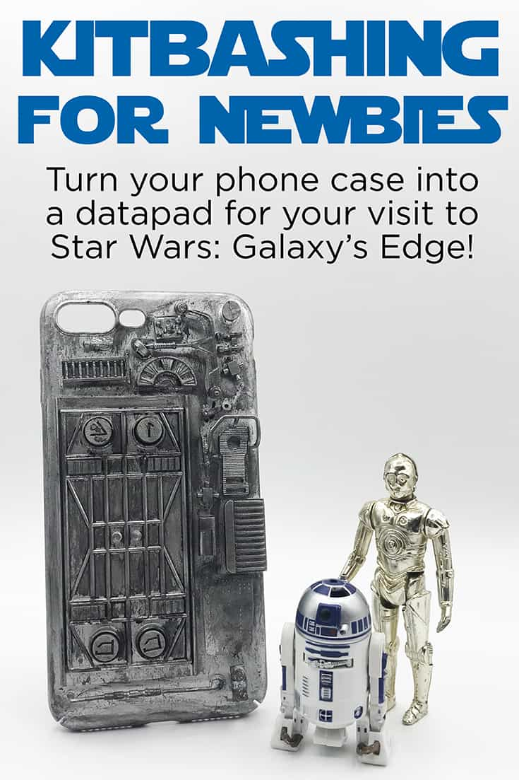 Kitbashing for Newbies: Turn your phone into a datapad