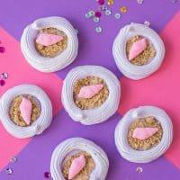 Sweet & Dainty Seashell Meringues