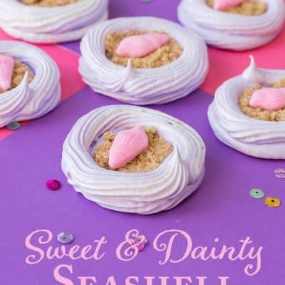 Sweet & Dainty Meringue Cookies