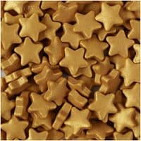 Gold Stars Sprinkles by Wilton
