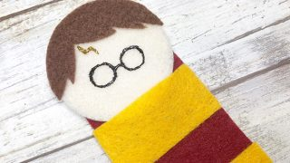 Harry Potter Felt Bookmark Project