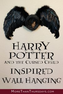 Harry Potter and the Cursed Child Wall Hanging