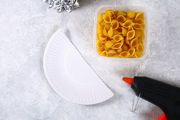 Craft supplies - Kid's Craft Pasta Tree
