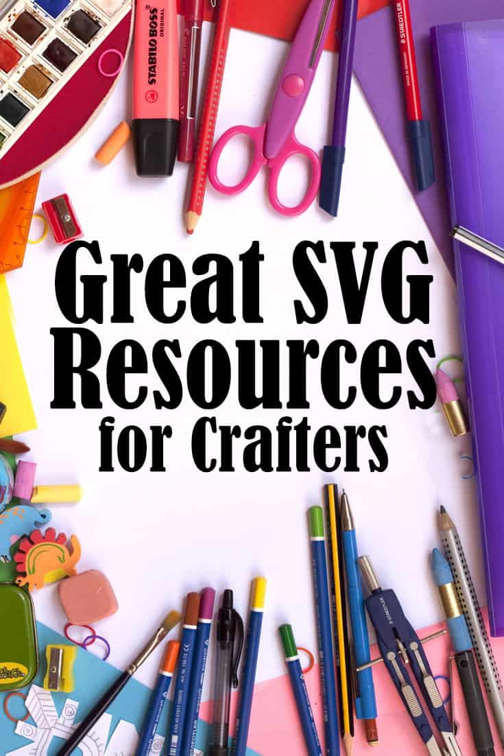 SVG craft file resources