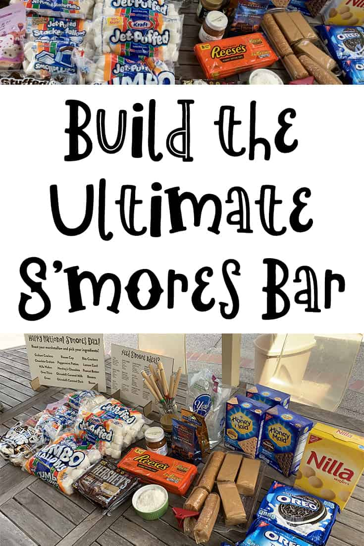 Build the Ultimate S'mores Bar