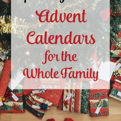 Advent calendars for the family – Updated for 2019