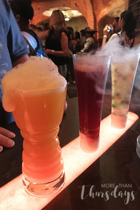 Galaxy's Edge Tips drinks