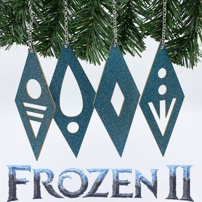 Frozen 2 Ornament: Nature's Elements Cut File