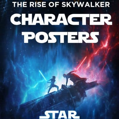 Star Wars: the Rise of Skywalker posters