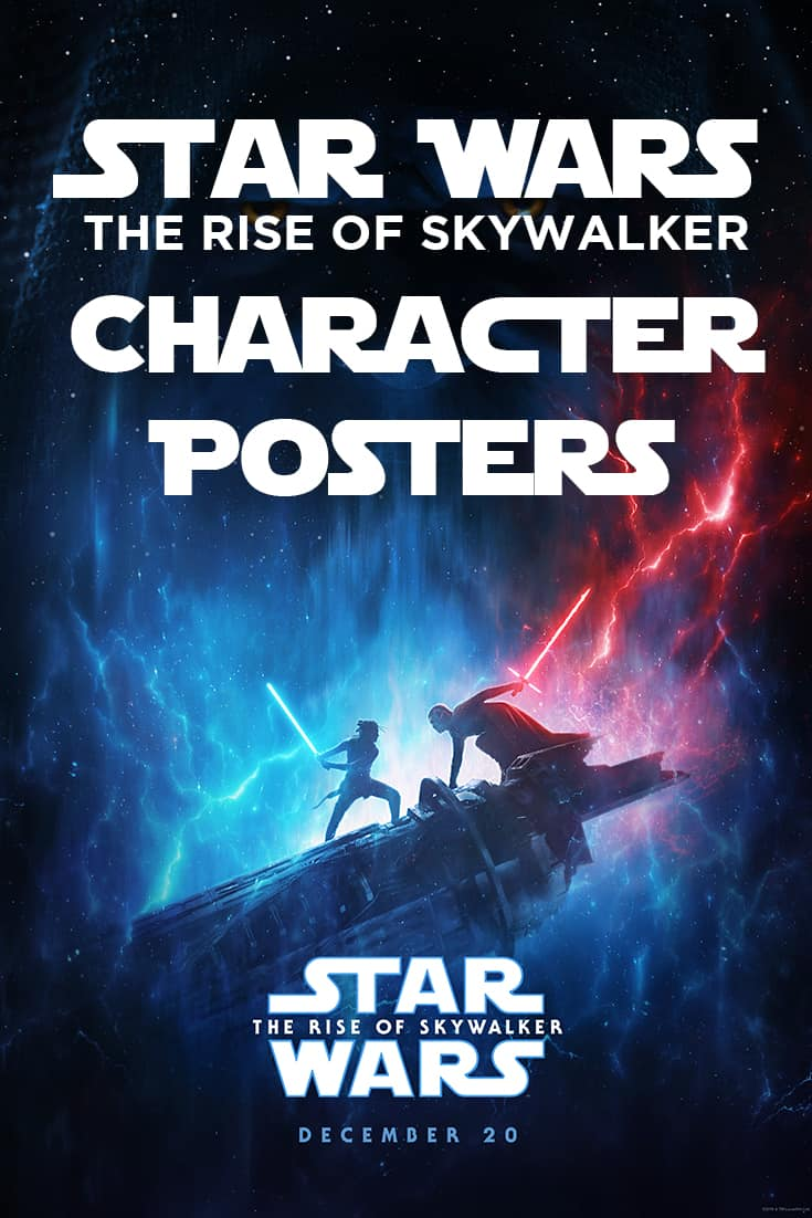 Rise of Skywalker Character Posters