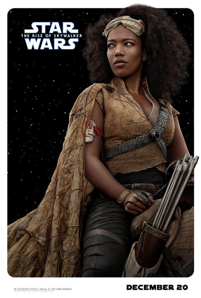 Rise of Skywalker Character Posters Jahnna