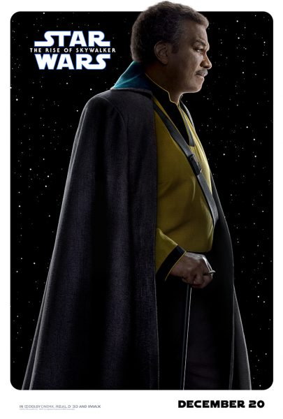 Rise of Skywalker Character Posters Lando