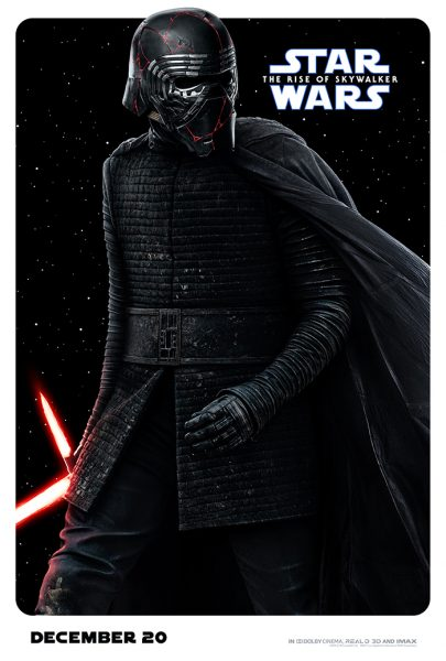 Rise of Skywalker Character Posters Kylo Ren