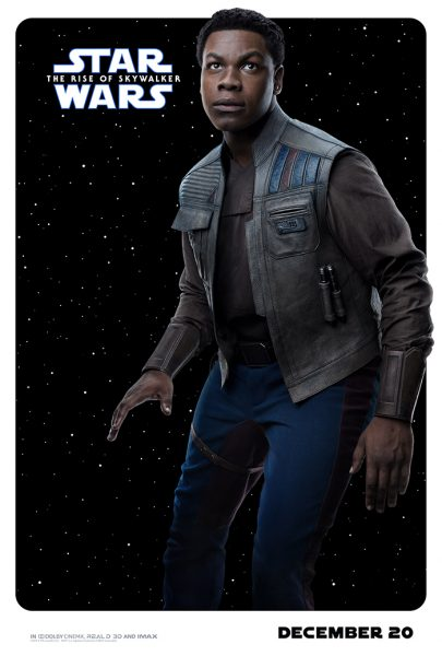 Rise of Skywalker Character Posters Finn