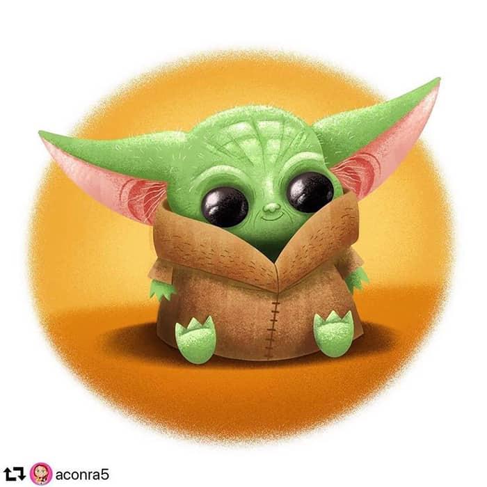 Baby Yoda Fan Art More Than Thursdays