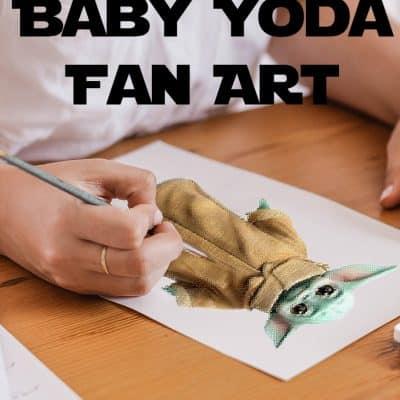 Baby Yoda Fan Art