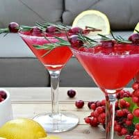 New Years Eve Drink – Cranberry Lemon Drops