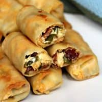 Mini Jalapeno Popper Egg Rolls