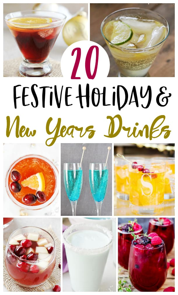 Festive New Year's Cocktails