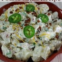 Jalapeno Popper Potato Salad Recipe