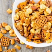 Sriracha Spicy Chex Mix For The Best Big Game Snack Ever!