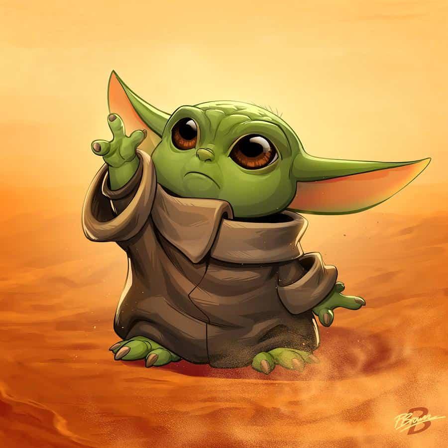 Baby Yoda Fan Art - More Than Thursdays