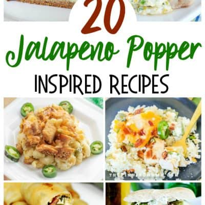 Jalapeno Popper-Inspired Recipes