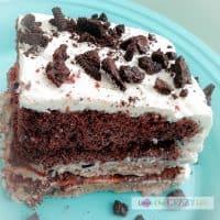 Delicious 7 Layer Ice Cream Cake