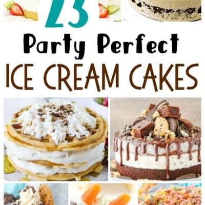 23 Delicious Ice Cream Cakes
