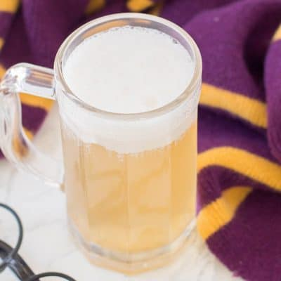Homemade Adult Boozy Butterbeer