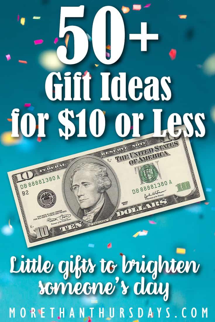 Gift ideas under $10