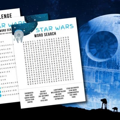 Star Wars Activity Sheets
